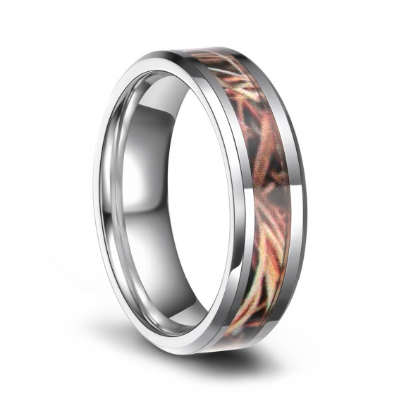 Realtree Camo Wedding Rings Hunting Tungsten Carbide Rings