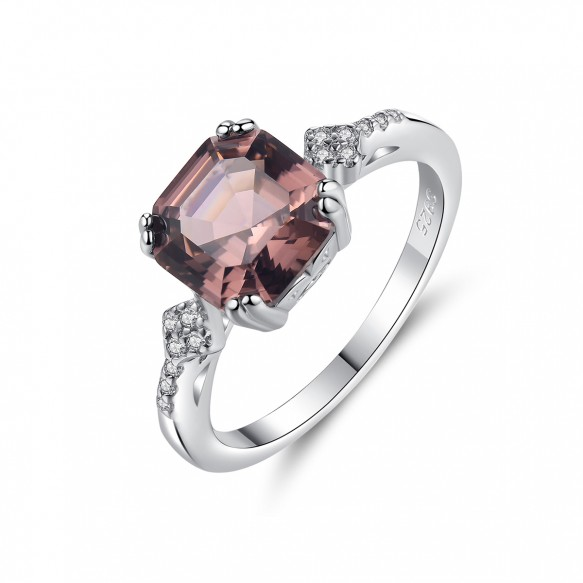 Purple Stone Rings Antique Wedding Rings for her