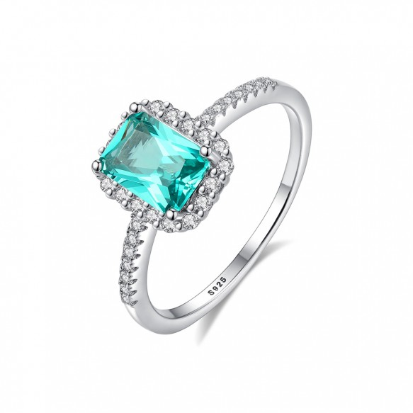Teal Sapphire Engagement Rings Antique Style Rings