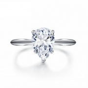 Pear Shaped Engagement Ring 2 Carat Sona Diamond