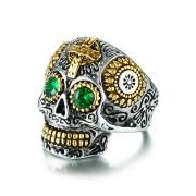 Stainless Steel Skull Rings Gothic Rings for Men