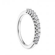 Sterling Silver CZ Eternity Rings for women