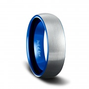 blue and silver tungsten rings-1