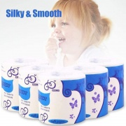 Silky & Smooth Premium 3-Ply Toilet Paper/50 Piece Disposable Face Mask Safety Mask For Personal Health 3-ply Ear Loop