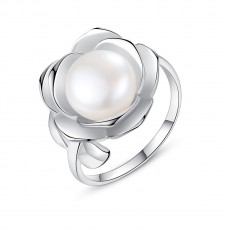 Pearl Flower Ring Antique Engagement Rings
