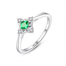 Antique Emerald Engagement Rings Promise Rings for Women