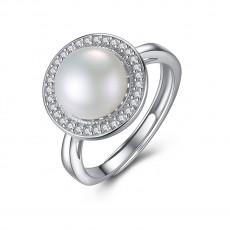 Freshwater Pearl Ring Vintage Wedding Rings