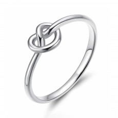 Simple Promise Rings Celtic Heart Knot Rings for Women