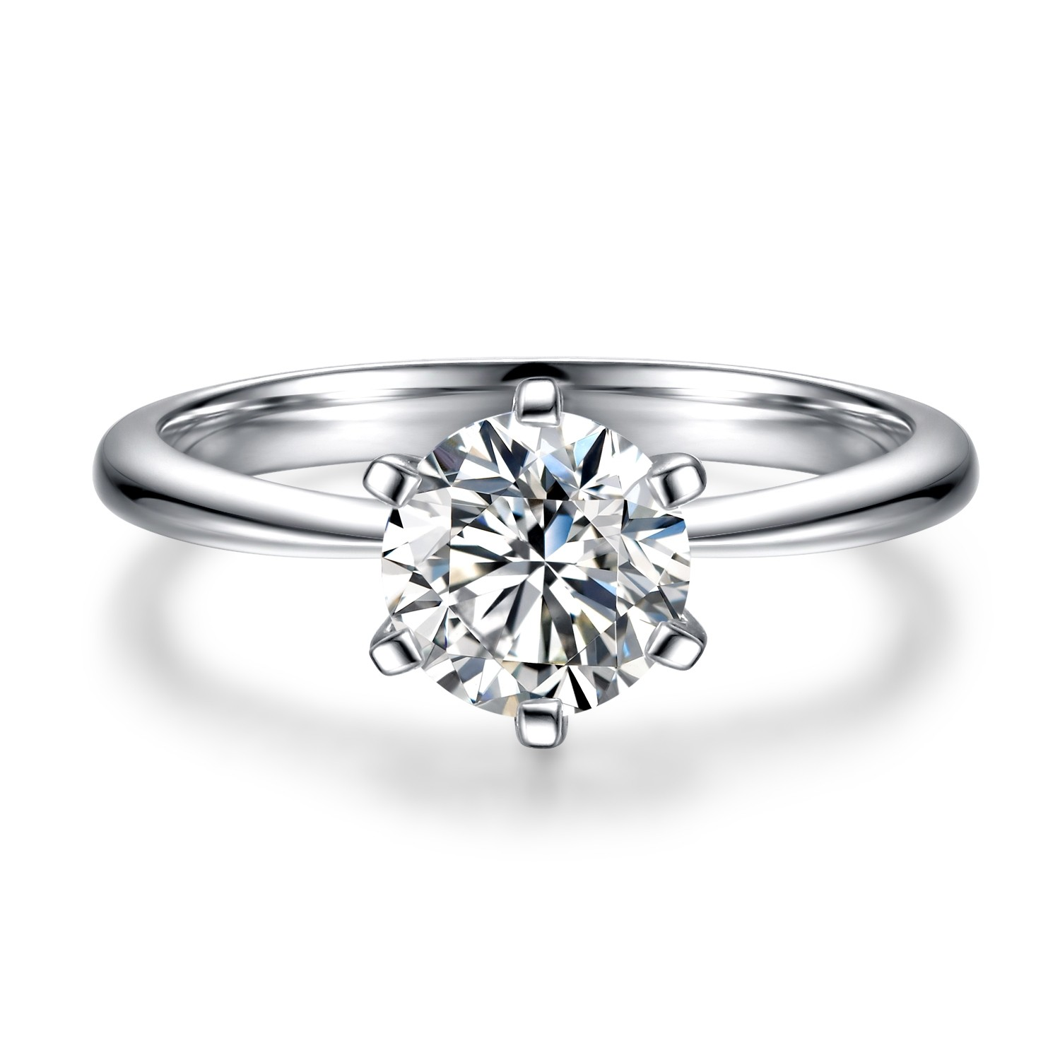 Customized Engagement ring Sets T-style Silver sterling For women Wedding Engagement and Anniversary