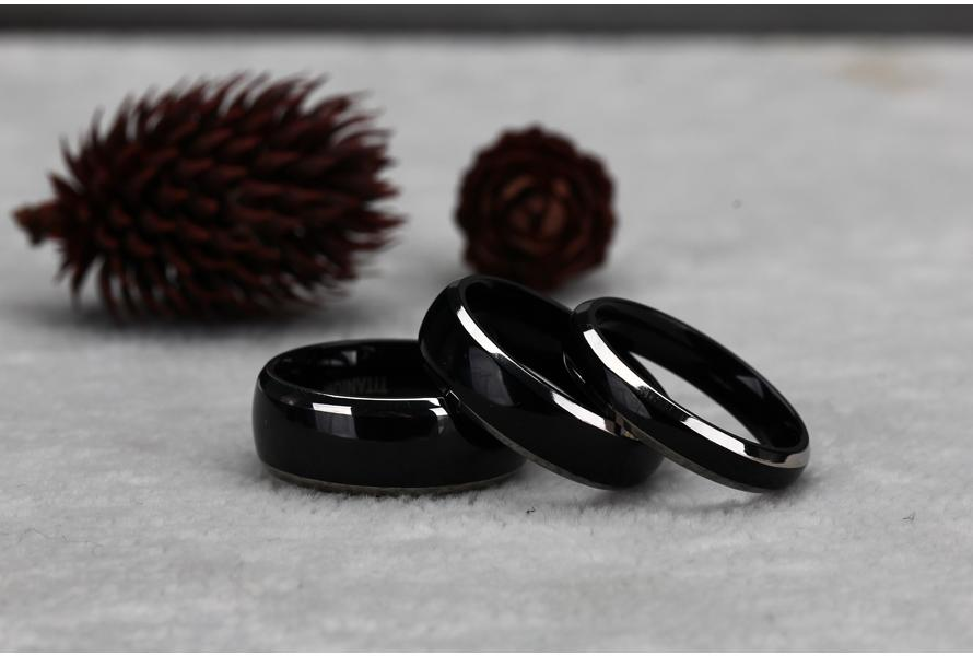 what is black zirconium rings