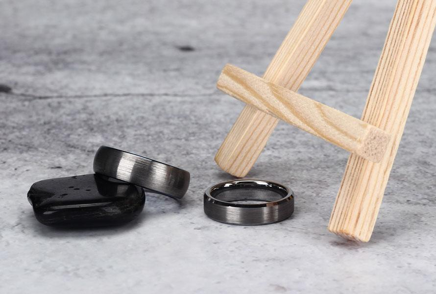 Why Do We Choose Tungsten Wedding Bands
