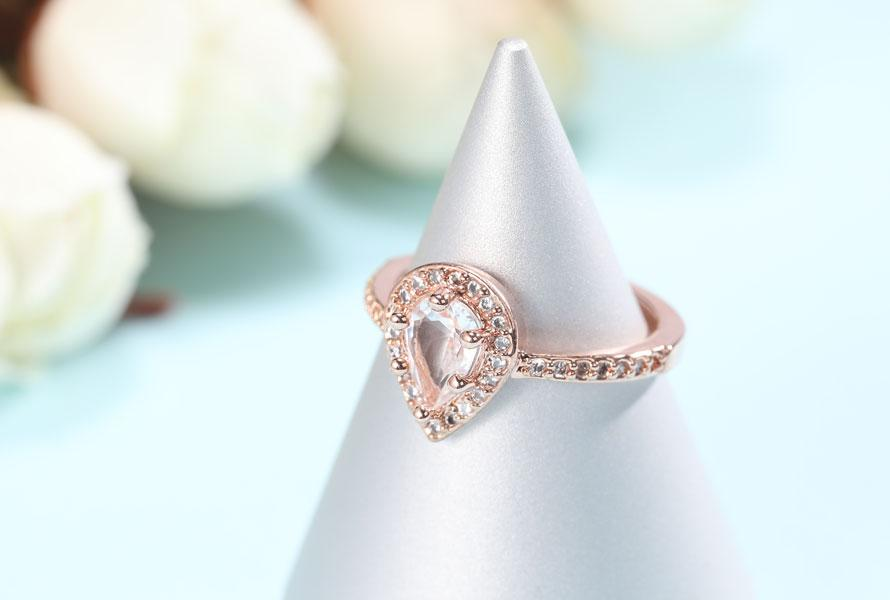 Rose Gold Diamond Engagement Rings Under 110 Dollars