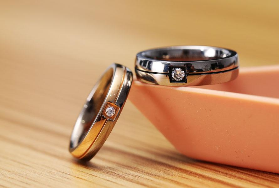 Wedding Rings Sets for Him and Her Under 110 Dollars