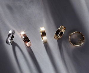 handsome titanium rings that add your charm