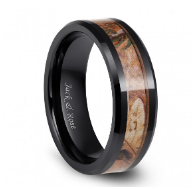 ceramic ring with camo inlay