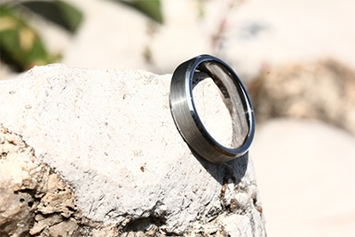 silver tungsten wedding bands
